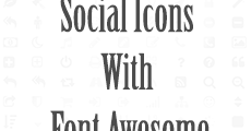 how to use font awesome icons in html