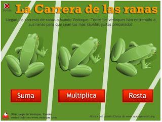 http://www.vedoque.com/juegos/juego.php?j=carrera-ranas&l=es