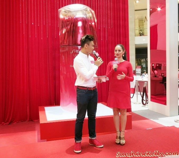 The Power of Red Tea Party by Shiseido, Shiseido Perfect Rouge Lipstick, Izara Aishah, Shiseido ambassador, shiseido ultimune, power of red, powerful red kisses, shiseido malaysia,
