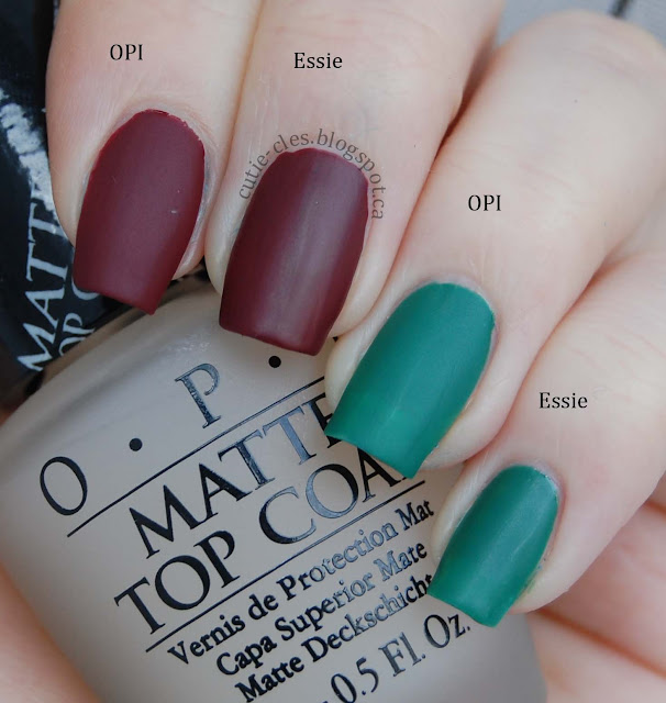 opi matte top coat paleberry opi matte top coat swatches amp review 30593