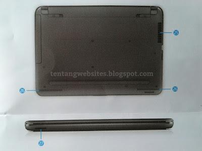 Penjelasan lubang-lubang laptope merk hp