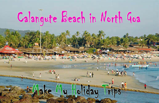 Calangute Beach In North Goa
