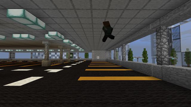 In Minecraft: parkeergarage