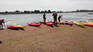 sea kayaking, walking and cyclingn weekend