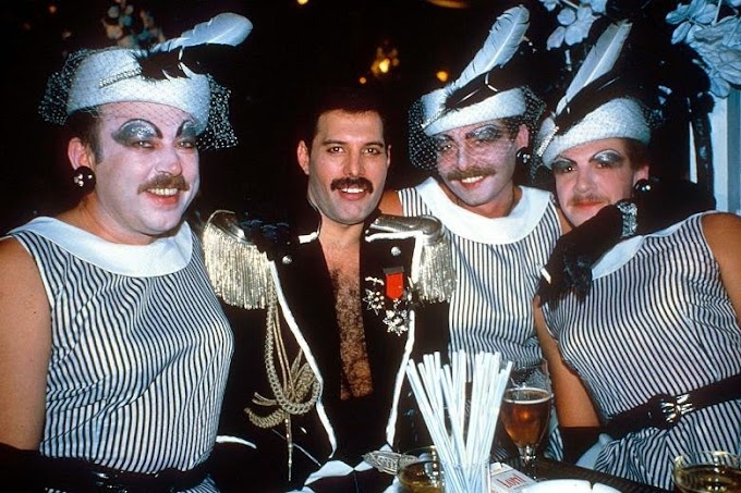 "Las ""SALVAJES"" fiestas de Freddie Mercury (video)"