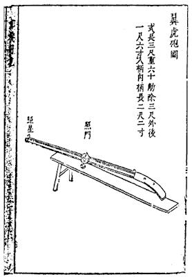 Ming Chinese Hackbut