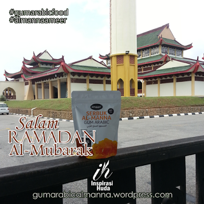 gum arabic almanna ameer, almanna ameer, gum arabic food, inspirasihuda, stokis almanna ameer kota bharu, ramadan,
