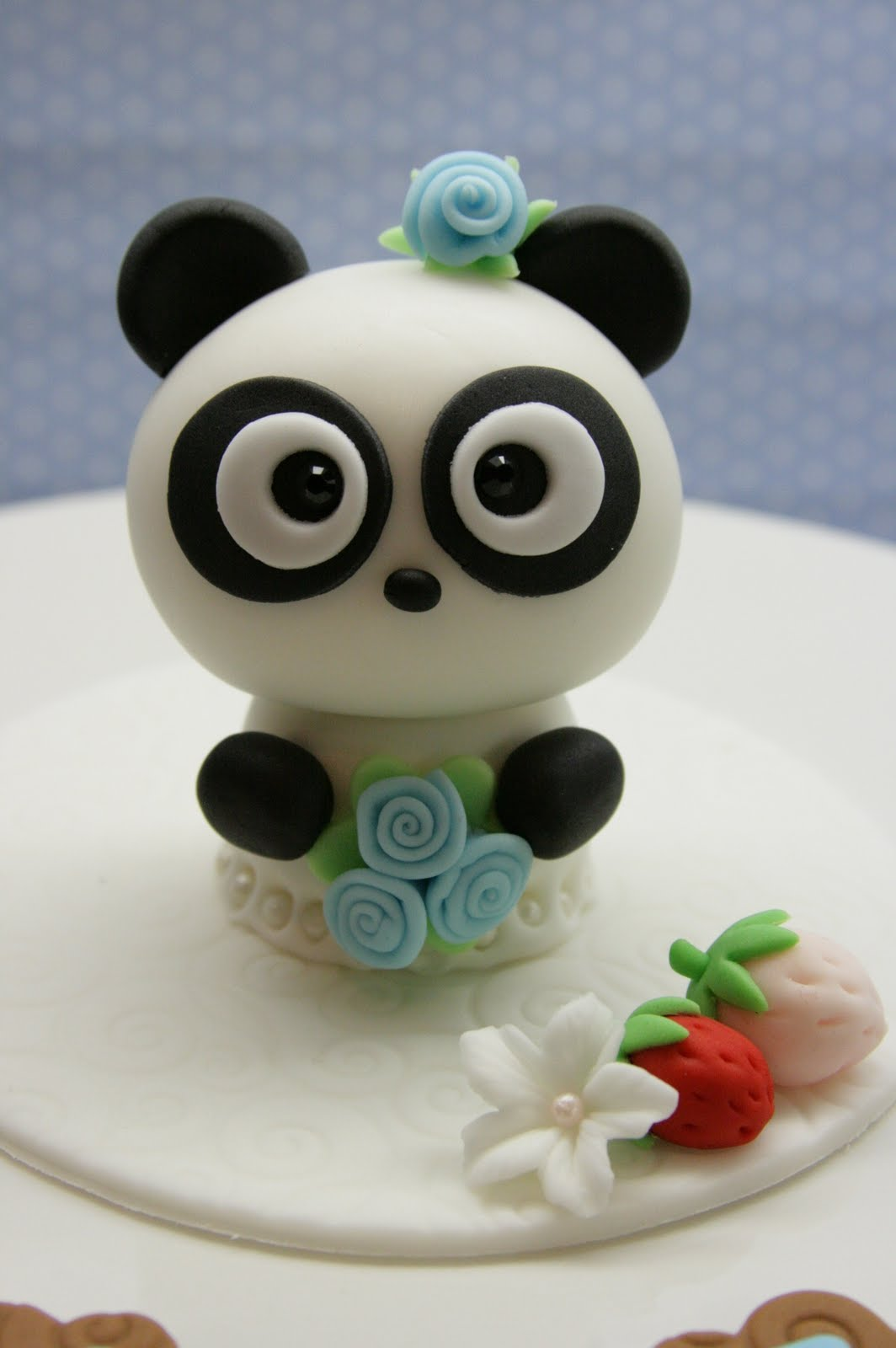 Beautiful Kitchen Panda Cake Topper for Ambers 8th Birthday