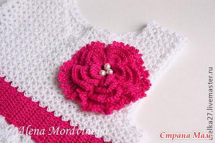 3733e85eb TRICO y CROCHET-madona-mía: VESTIDOS a crochet para bebes con gráficos