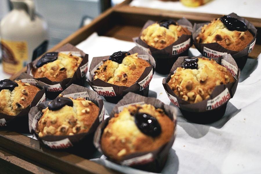 muffin nutella hilton