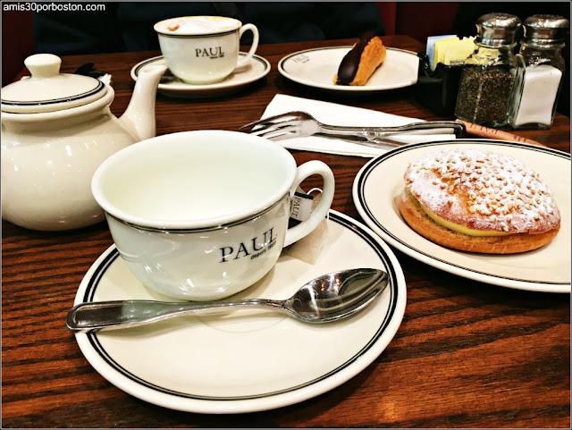 Café y Té con Dulces para Merendar
