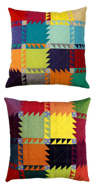 Red Pepper Quilts The Oakshott Bear Paw Pillow Pattern