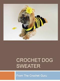 http://www.crochetguru.com/crochet-dog-sweater-pattern.html