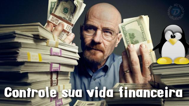 Controle a sua vida financeira