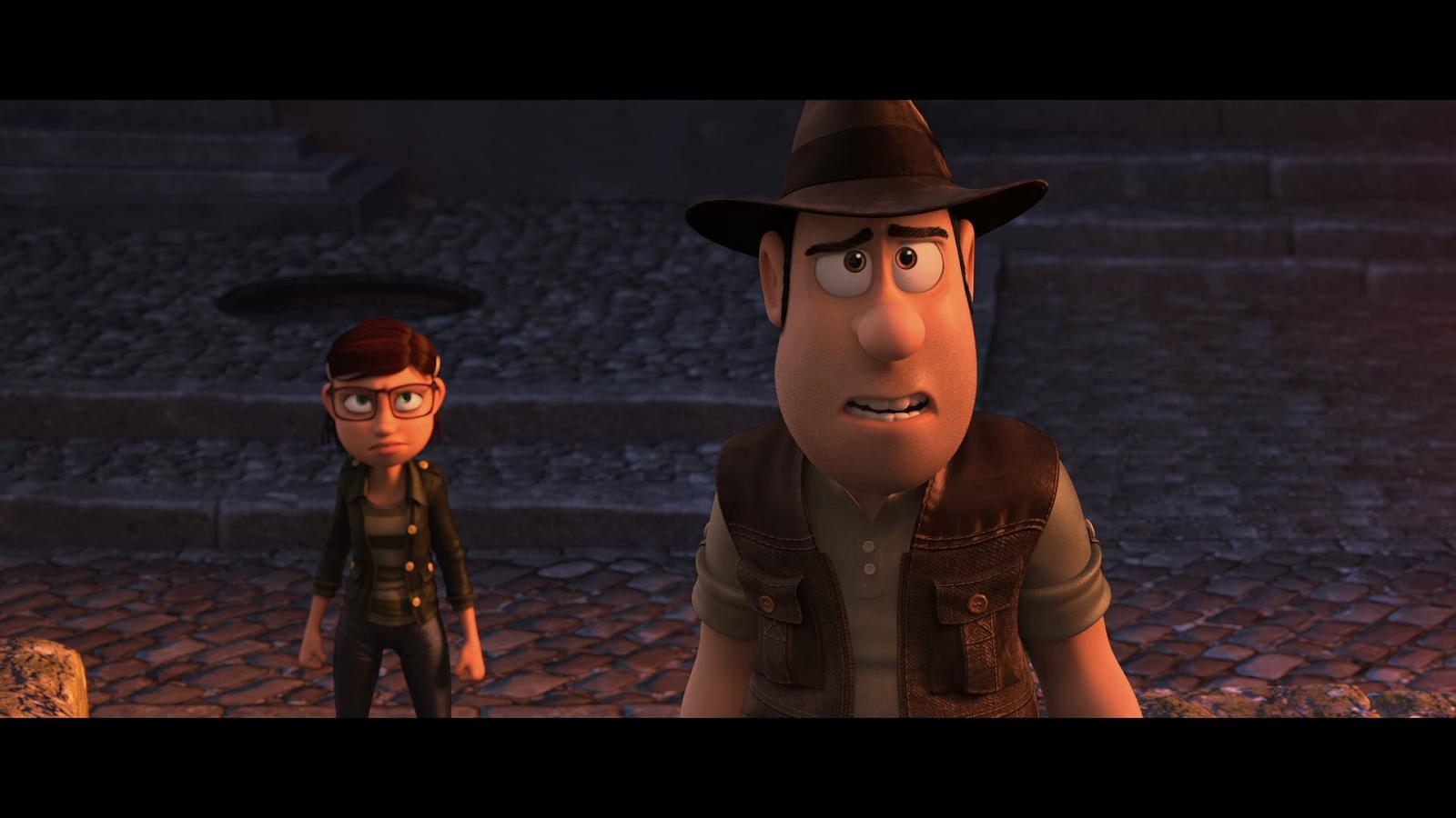 Tadeo, El Explorador Perdido 2: El Secreto Del Rey Midas (2017) BRRip Full 1080p Latino-Castellano-Ingles captura 3