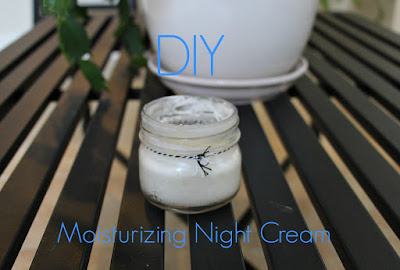 DIY Moisturizing night cream