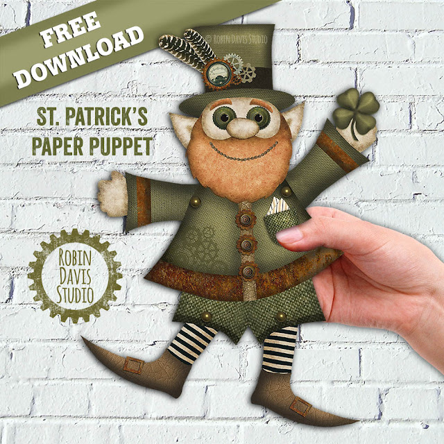 Free Leprechaun Download from Robin Davis Studio
