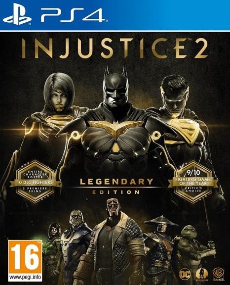 Mundo Drew: Injustice 2 Legendary Edition [PS4][USA][5 05][PKG