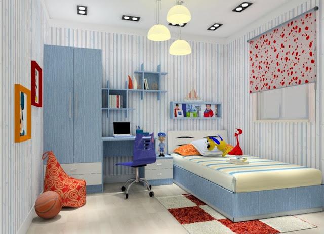 Contoh desain kamar tidur anak