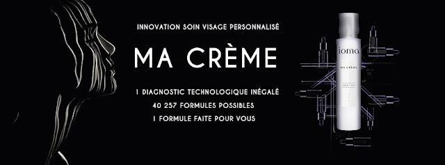 Ma Crème sur mesure, IOMA PARIS à gagner lors de la Beauty Party du Blog