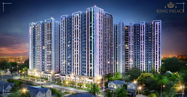 Phối cảnh dự án King Palace Nguyễn Trãi