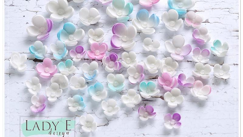 Tiny Foamiran Flowers / Malutkie Foamiranowe Kwiatki