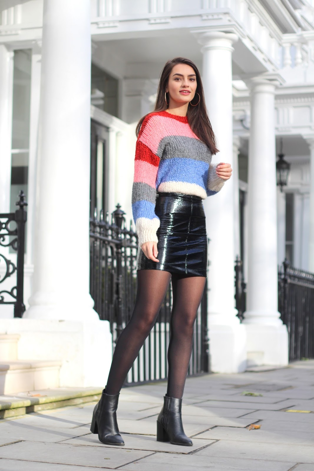 peexo colour block stripes new look
