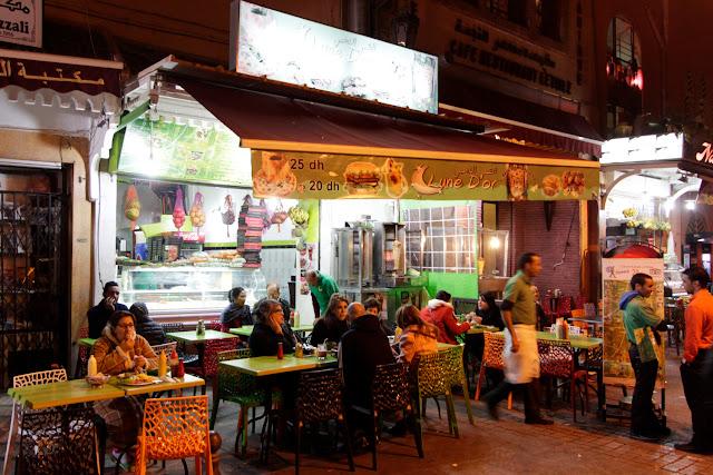 Restaurante Lune D'or cerca de la plaza Djemaa El Fna
