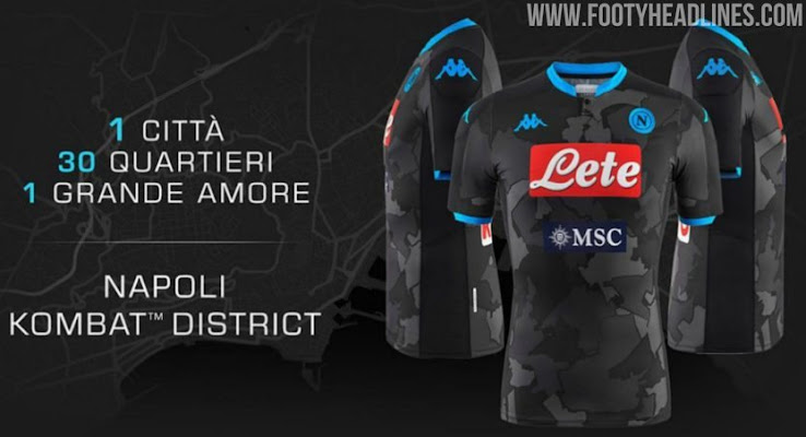 Unique Napoli 19 20 Fourth District Kit Released Footy Headlines