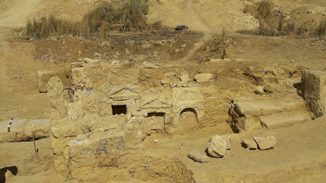 Remains of Graeco-Roman temple discovered near Egypt's Siwa Oasis