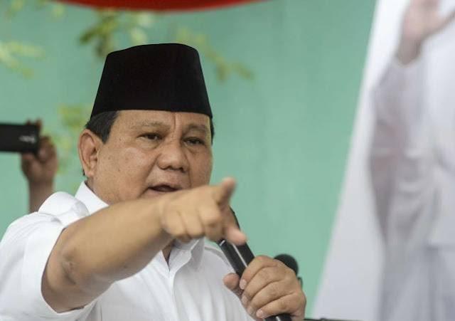 Prabowo Tegaskan, Kali Ini Tak Kan Rela dan Tak Sudi Dicurangi!