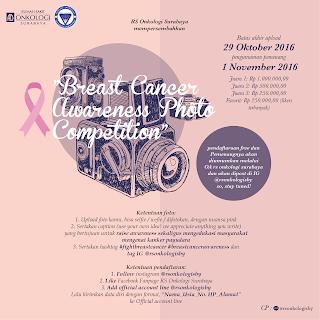 Lomba Foto Kanker Payudara RS Onkologi Surabaya Oktober 2016