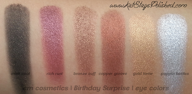 em michelle phan - The Life Palette- Party Life - Birthday Surprise - eye