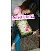 Rangkaian Bunga Buket Hello Kitty