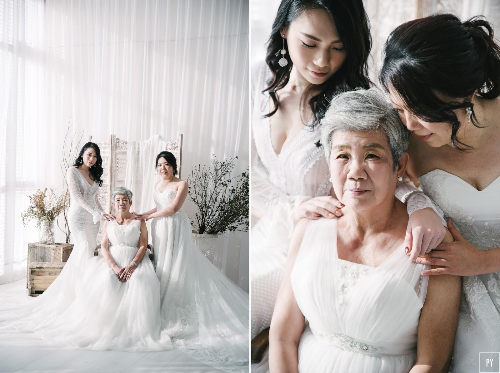 「全家福寫真」三代同堂 婚紗寫真 Alice's family portrait
