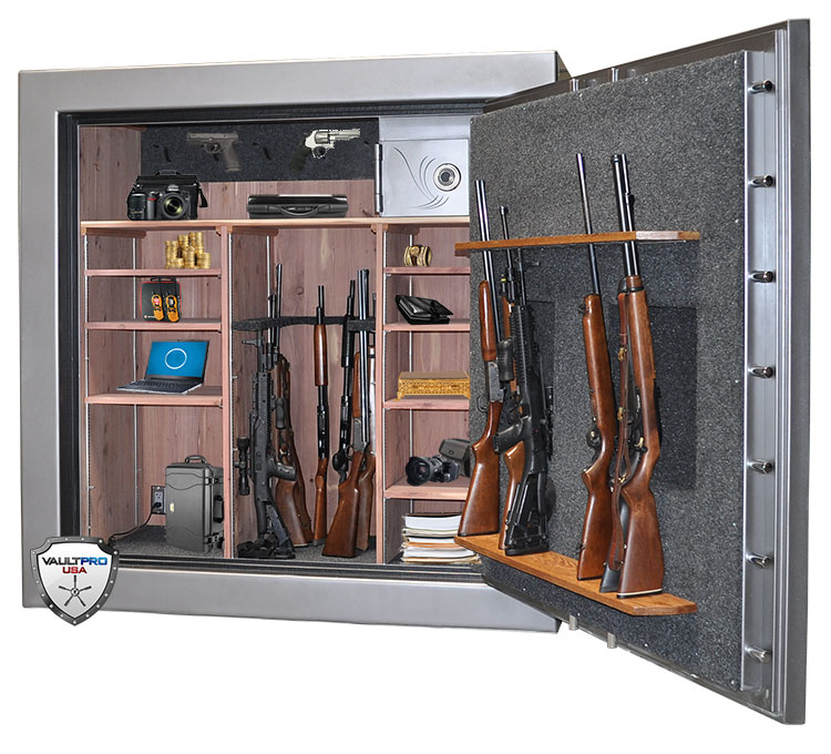 Safe and vault door reviews and how to 39 s custom safes for Walk in gun safe plans