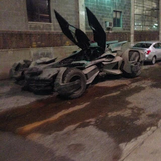Batman v Superman: Dawn of Justice - The Batmobile