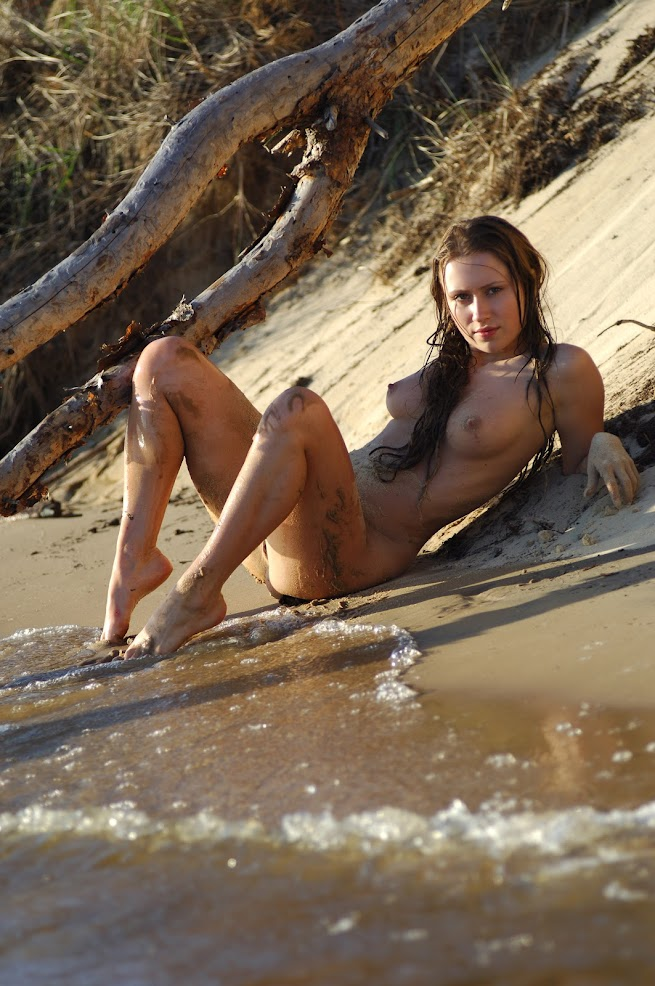 [GirlsInNature] Katy - On Sand