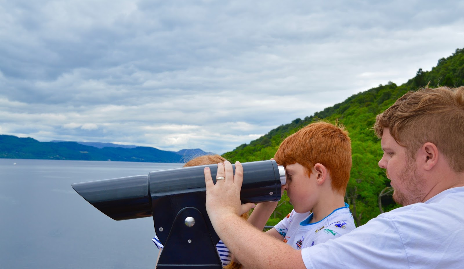 Loch Ness Centre & Exhibition Review with Kids - We spot the Loch Ness Monster!