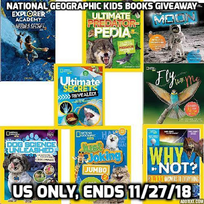 Enter the National Geographic Kids Books Giveaway