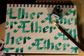 Æther | Inktober 2017 | www.zeitunschaerfe.de