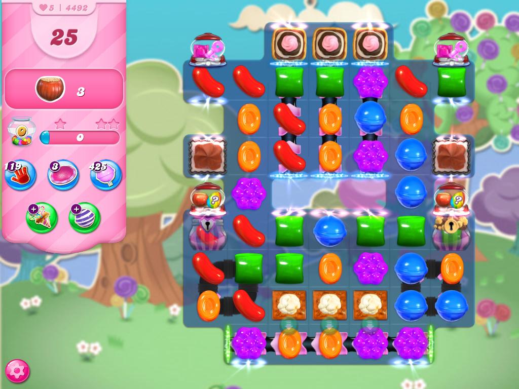 Candy Crush Saga level 4492