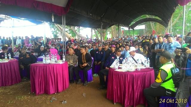 Sepuluh Ribu Orang, hadiri acara sedekah Bumi di Cikedung, Indramayu