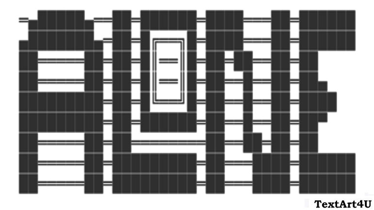 Alone ASCII Text Art Copy Paste For Facebook Status | Cool