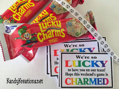 Lucky Charms Team Treat Tag Printable