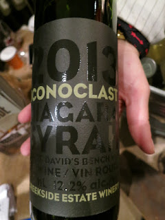 Creekside Iconoclast Syrah 2013 - VQA St. David's Bench, Niagara-on-the-Lake, Ontario, Canada (89 pts)
