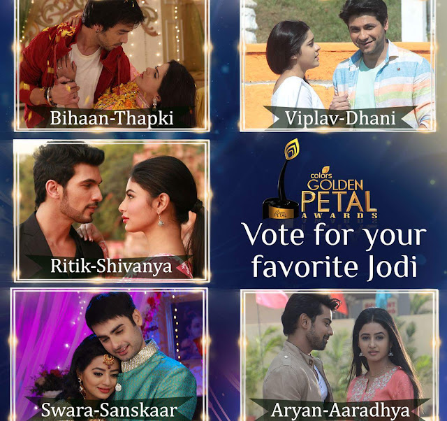 Golden Petal Awards 2016 Colors Tv Show Timing,Promo,Category,Voting,Winners,Nominee,Wiki Plot