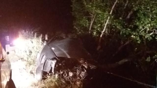 Filho e neto de vereadora de  Olho D'Água do Casado, sofrem acidente de carro  na AL-225 entre  Olho D'Água do Casado e Piranhas