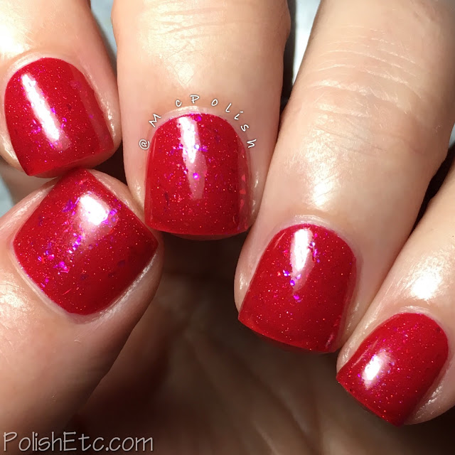 Pahlish - 12 Days of Christmas Collection - McPolish - Nine Ladies Dancing
