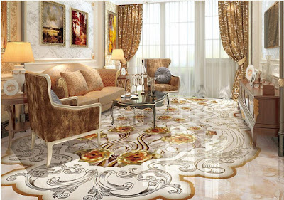 marble floor tile designs for modern home interiors 2019